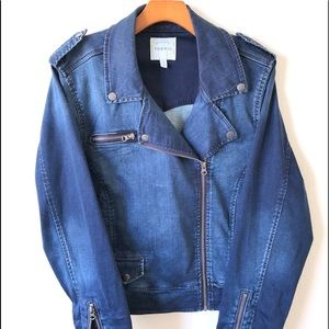 Torrid Size 3 Denim Moto Jacket